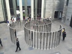 NGV, Jeppe Hein, Semicircular Space